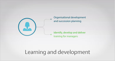 Learning and development video