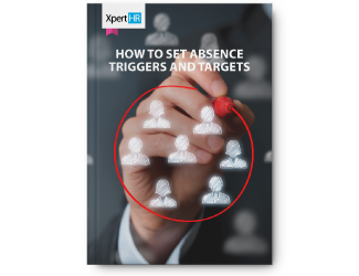 How to set absence triggers and targets