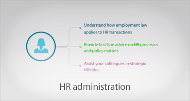 HR administration or service delivery video