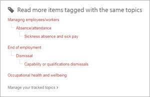 more items tagged with the same topics